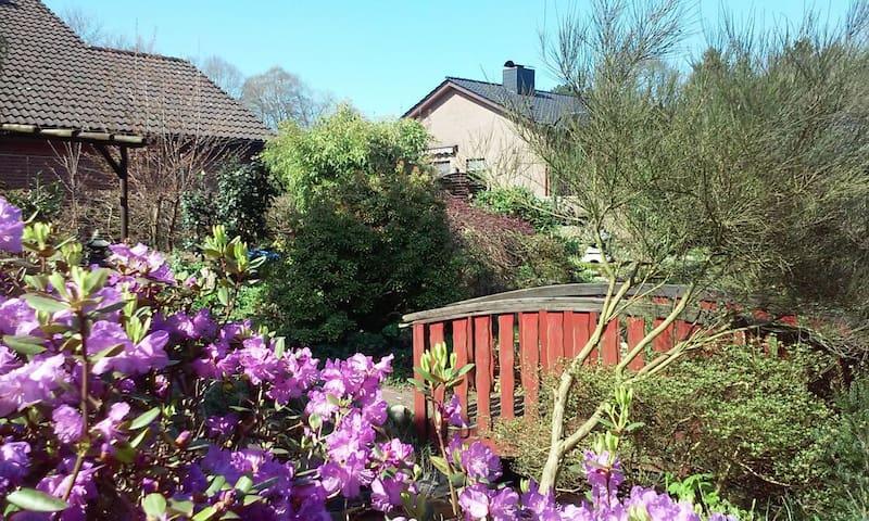 Kleine gemütliche ruhige Wohnung in Hemmoor - Hemmoor - Gjestehus