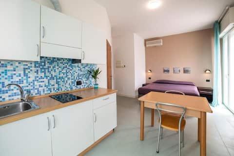 Apartamento na areia em Rimini