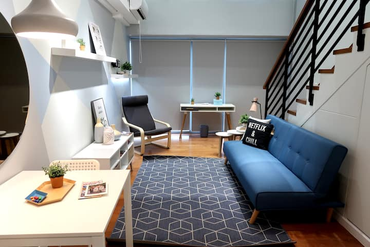 Greenbelt Loft in the Perfect Location!