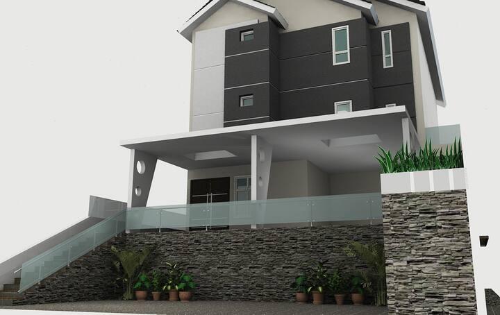 3BR | B - New Apartments at Heart of Brinchang