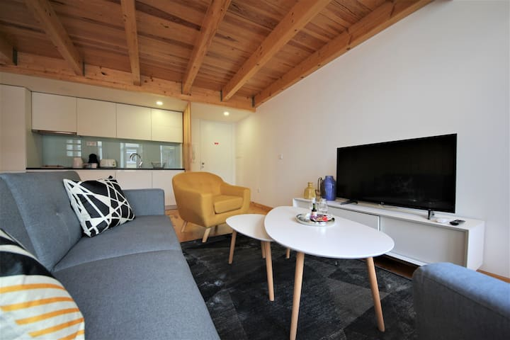 Living room and kitchen - Loft ground floor