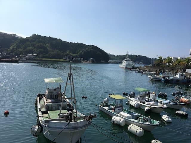海の前のゲストハウスさくら