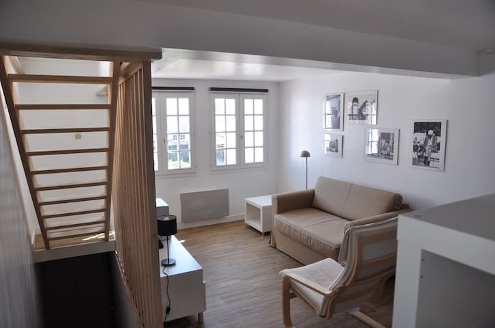 Charmant appartement duplex confortable.