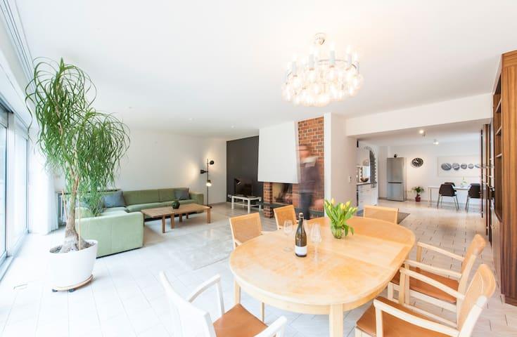 3-Zimmer-Apartment mit Sonnenterrasse und Garten