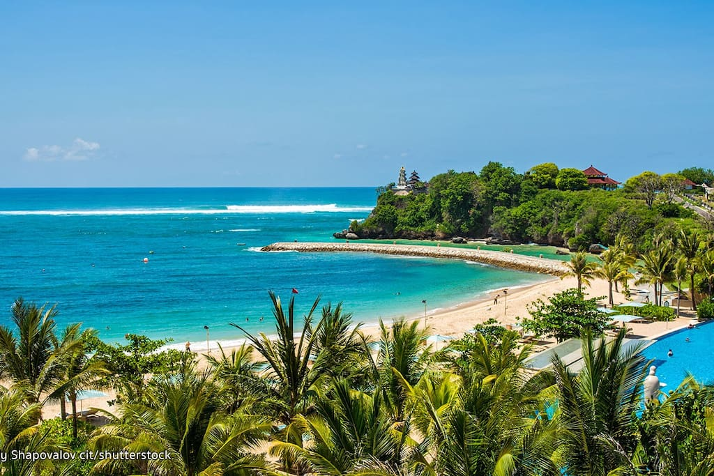10 mins drive/ best beaches in Bali.