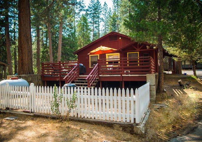 Camp Chilnualna Historical Cabin 12 in Yosemite