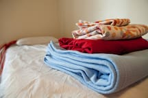 Sleeping linens are provided at no additional charge.