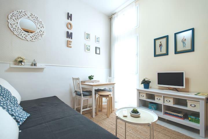 Excellent quality price. Central, quiet apartment