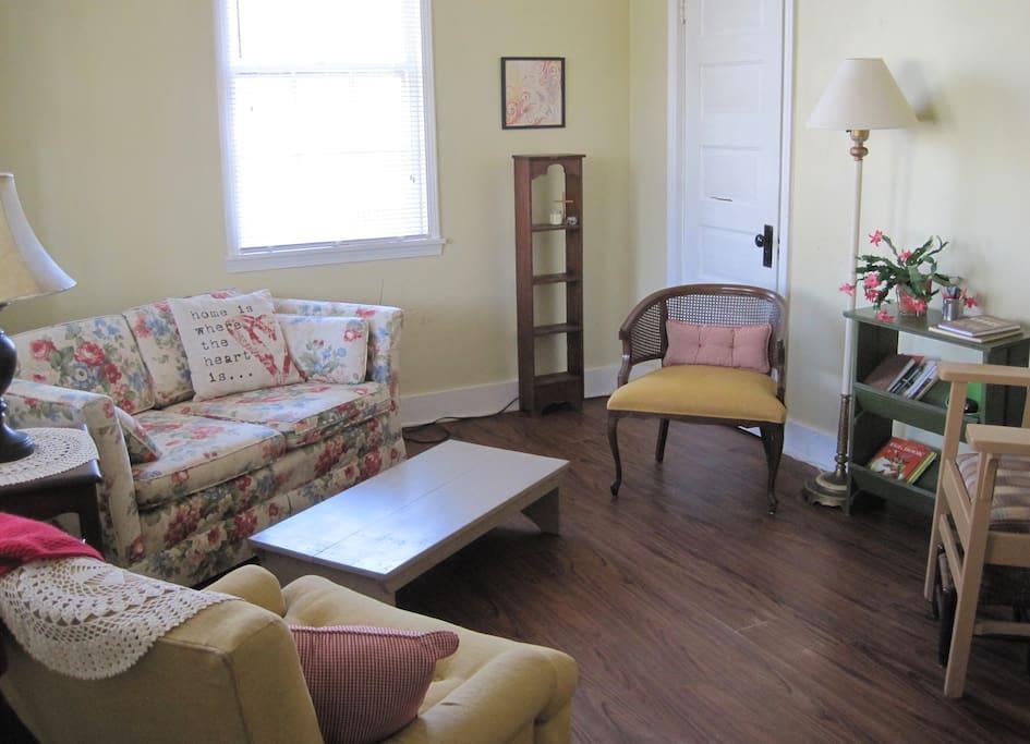 Living Room - View from the front door