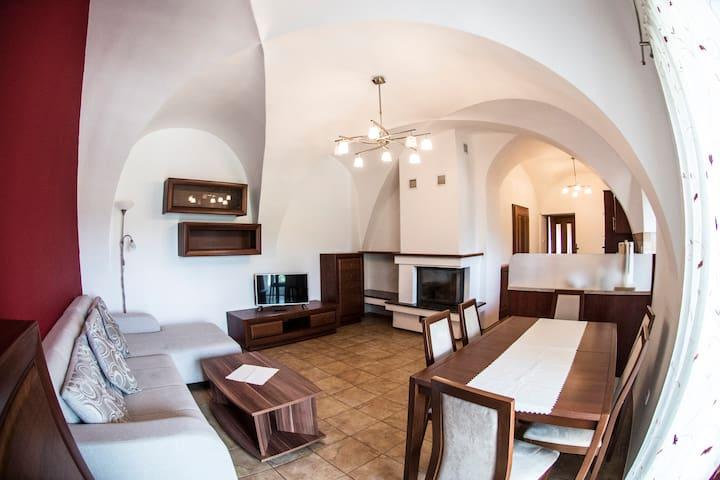 Kaplanka - Apartmán v centru Znojma se 3 ložnicemi