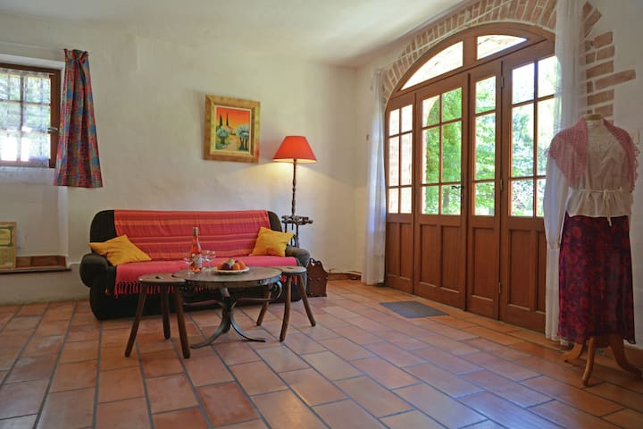 typical stone Cévenol house ideal for nature lovers on the edge of Cevennes.
