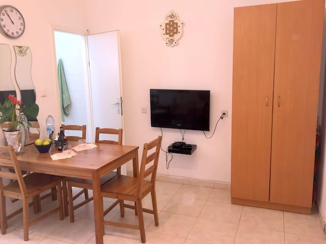45 евро за 2 комнаты в 5 минутах от моря! - Bat Yam - Apartment