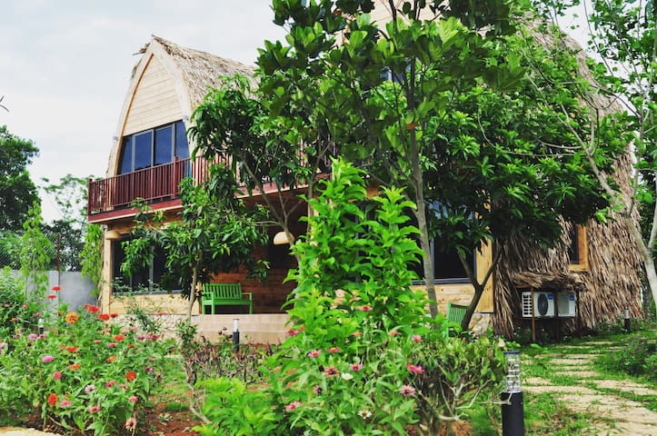 Homestay Lòng Hồ - The Wooden Bungalows