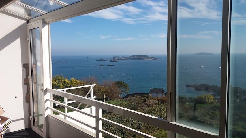 "Maison  paimpol plein sud vue mer  ""ti zen"" - Ploubazlanec - Obsługiwany apartament"