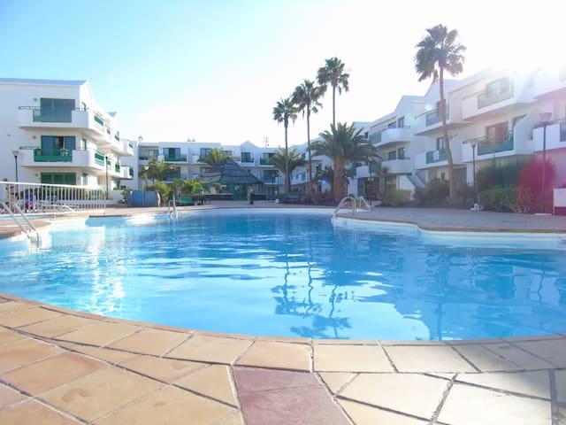 Luxury Apartment On The Beach - Costa Teguise - Byt