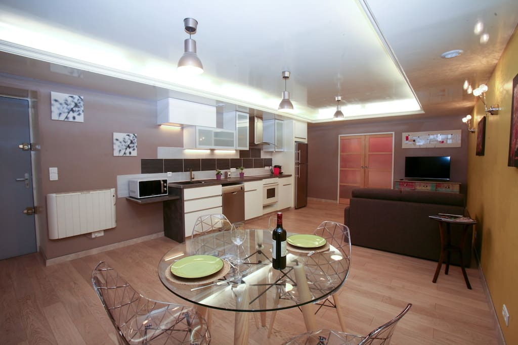 Appartement cosy triangle d 39 or apartments for rent in for Appartement bordeaux triangle d or