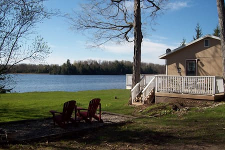 Upper Beverley Lake Cottage- 2 bedrm, Delta, ON