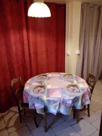 Coin salle à manger (rdc)