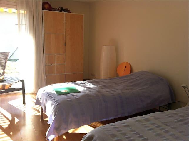 NEU:In der Stadt und doch im Grünen - Zurigo - Appartamento