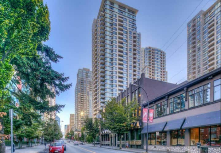 Yaletown 1 Bed Apt Contemporary Bright & Spacious