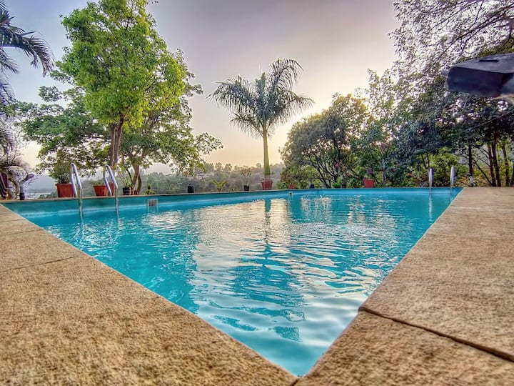 HAVE - JMD Farm Villa.LONAVALA Lake Touch.PVT Pool