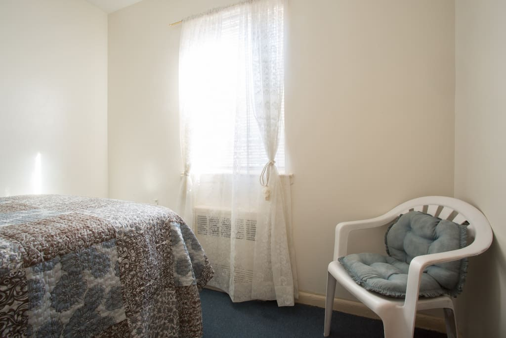 The Second Double bed Junior suite sleeps 2 people with a large viewable window.