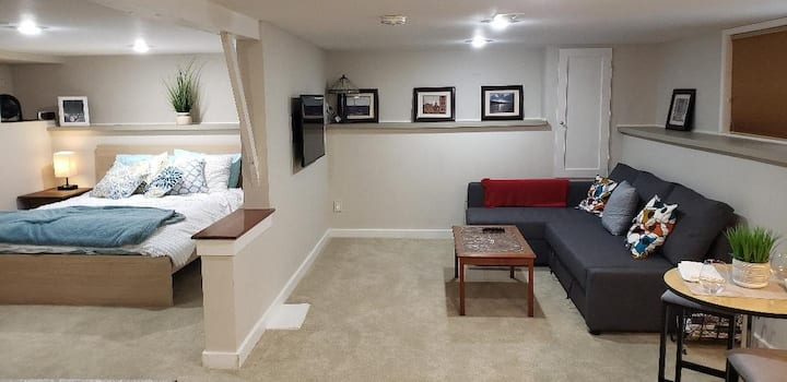 Cozy & private suite in centrally located Ravenna