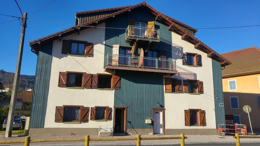 Appartement 6 pers à 5 km de la Bresse