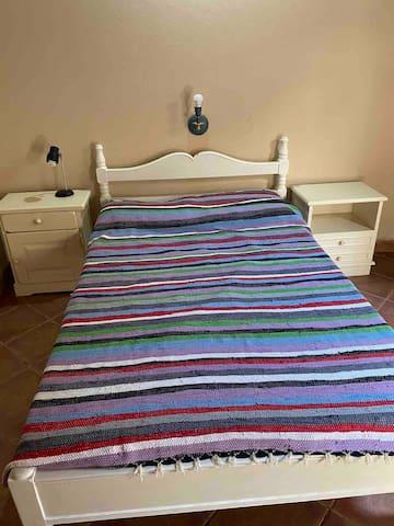 Dormitorio numero 3. Cama de 1,40 de ancho