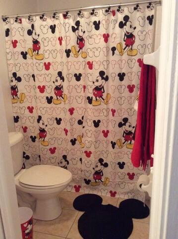 Kids Bathroom - Villa Yuya