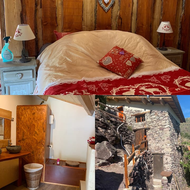 Double room-Traditional-Private Bathroom-Mountain View