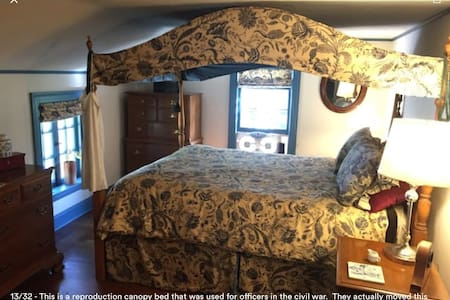 The guest bedroom with private bath - Watertown