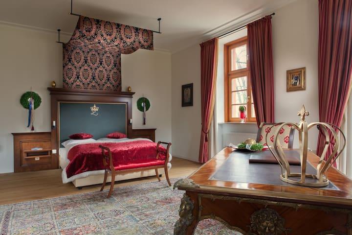 Schloss Suite Gerzen  König Ludwig