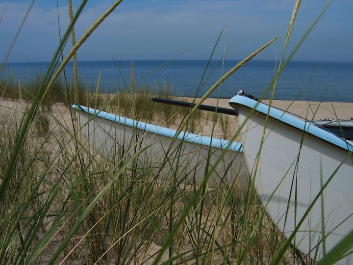 Quiet Walk to Lake Michigan Beach - Seaside Smores