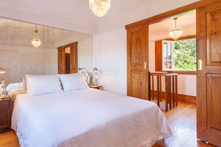suite duplex at  Casa do Eido - sustainable living