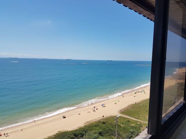 Lindo Flat, Praia da Costa, vista p/ mar, ar, wifi