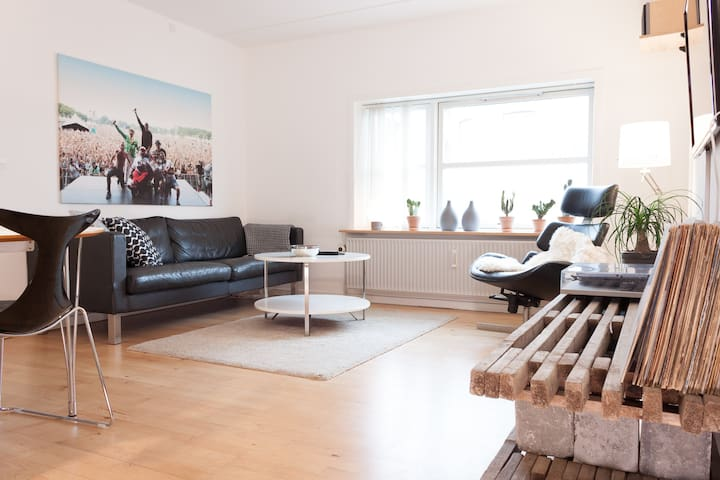 Cosy and modern apartment in the heart of Aarhus