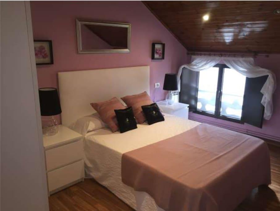 dormitorio cama 135