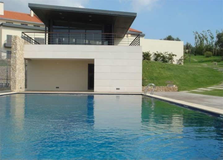 Villaggio Manique-Condomínio Piscina prox Praia