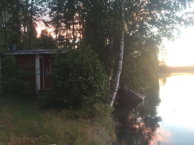 Summer hut by the lake - Savonlinna - Cabaña