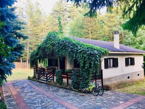 Villa nel pittoresco villaggio di Silvana Mansio