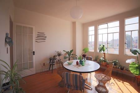 private room in a great Art Decó building - 墨西哥城(Ciudad de México)