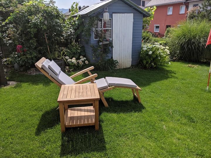 Gemütliche Ferienwohnung mit eigenem Garten