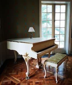 Piano sala principal de la mansión