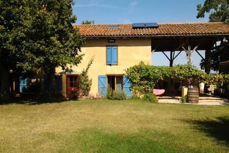 Chambre chez l'habitant avec piscine - Saint-Victor-Rouzaud