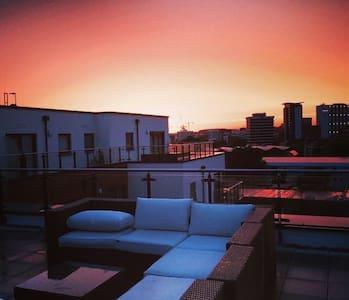 Amazing Terrace-Modern Ensuite Room - Southampton - Apartment
