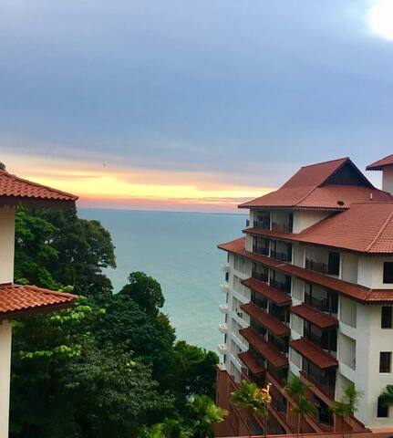 Kuantan SeaView 2 BRooms Fully Furnished Apartment