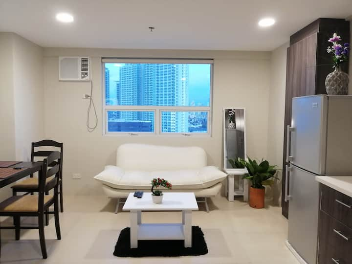 Fresh & Spacious 1BR LOFT 100 mbps WiFi& Netflix