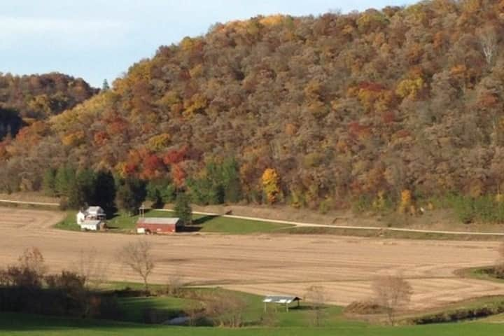 Scenic View Farmhouse by Crick!
