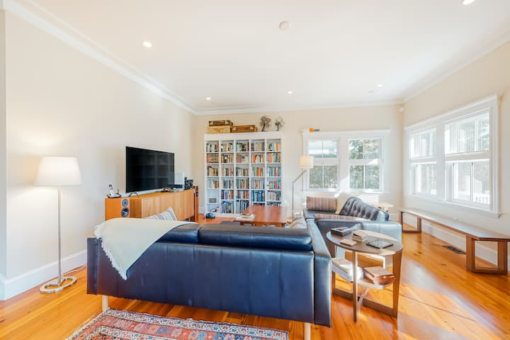 Fully-Updated, Historic Home w/ Free WiFi, a Furnished Deck, & Large Yard
